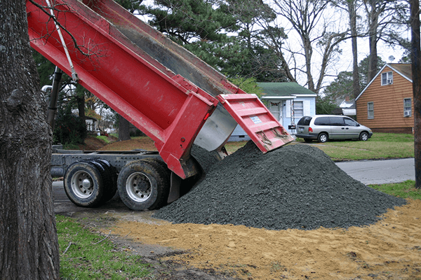 Dirt, Topsoil, Sand, and Gravel Delivery - Gainesville, GA | Andy Strange Grading